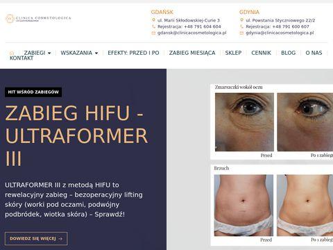 Clinicacosmetologica.pl salon kosmetyczny