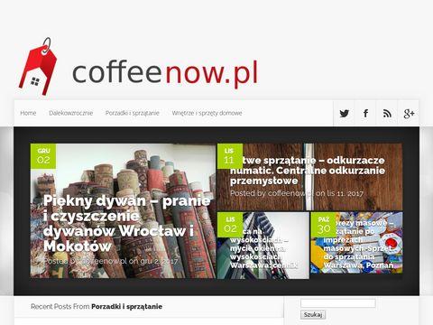 Coffeenow.pl - posadzki żywiczne Warszawa