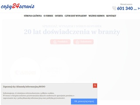 Copy24Serwis kserokopiarek Warszawa