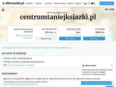 Centrumtaniejksiazki.pl
