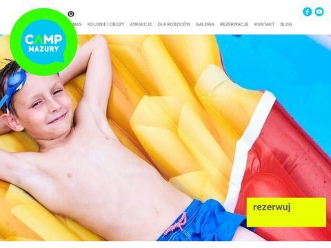 Campmazury.pl obozy letnie dla dzieci