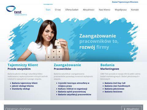 Cbmtest.pl badania marketingowe
