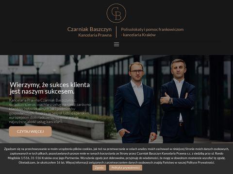 Cbkancelaria.pl adwokat Kraków
