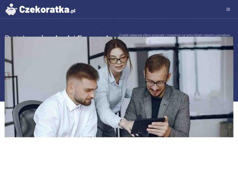 Czekoratka.pl pożyczka na dowód
