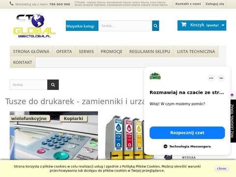 Ctglobal.pl akcesoria i materiały do kopiarek
