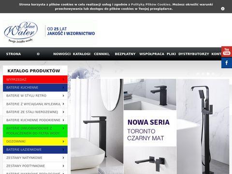 Bluewater.pl zestawy podtynkowe prysznicowe