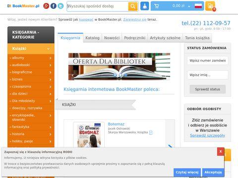 BookMaster.pl - księgarnia online