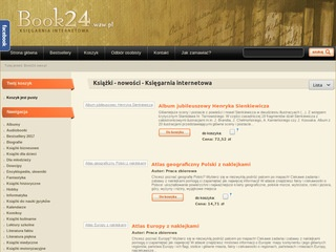 Book24.waw.pl księgarnia internetowa