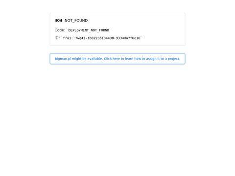 Bigman.pl sklep dla puszystych panów