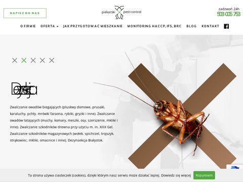 Bialystokddd.pl zwalczanie pluskwy