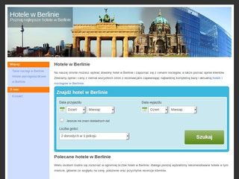 Berlin-hotele.pl tanie noclegi