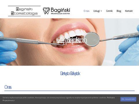 Baginskistomatologia.pl implantologia zębowa