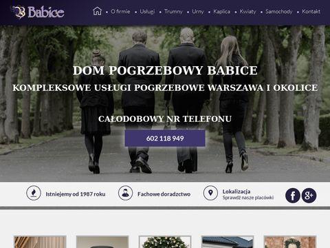 Babice.com.pl dom pogrzebowy Warszawa