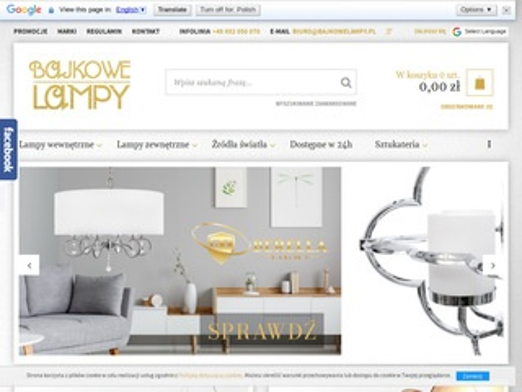 Bajkowelampy.pl Sollux lighting