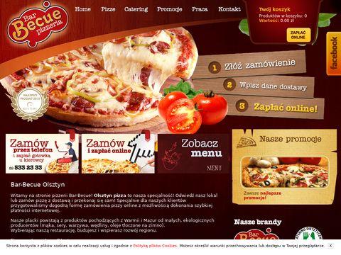 Bar-becue.pl Olsztyn pizza