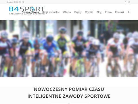 B4Sport.pl - pomiar czasu na zawodach
