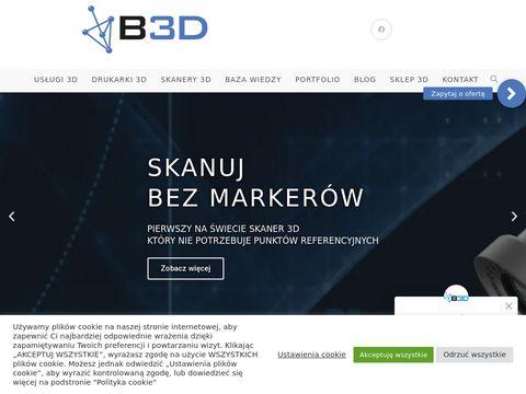 B3d.com.pl modelowanie