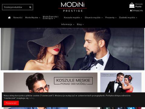 Modini.pl elegancka odzież męska
