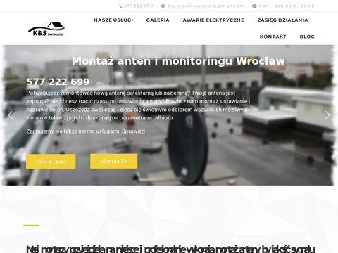 Montazantenywroclaw.pl serwis SAT i DVB-T