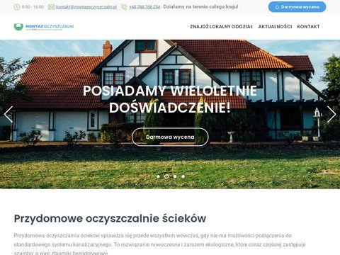 Montazoczyszczalni.pl