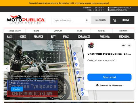Motopublica.pl kaski motocyklowe integralne