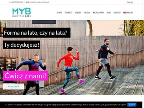 Mindyourbody.pl trenerka osobista Warszawa