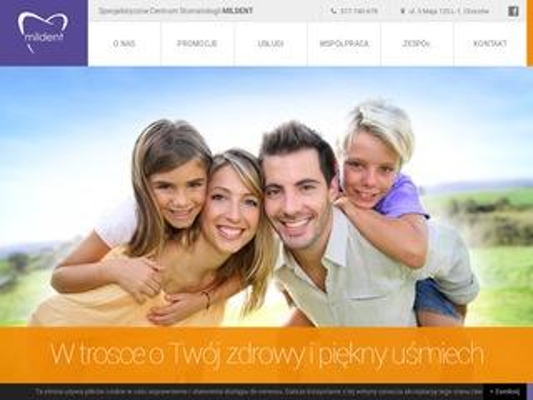 Mildent.pl - stomatolog Chorzów