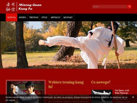 Mizong.pl chińskie sztuki walki Kung Fu Wushu