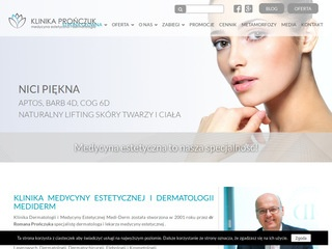 Mediderm.com.pl klinika dr Prończuk