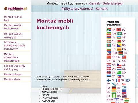 Meblunio.pl montaż mebli Warszawa