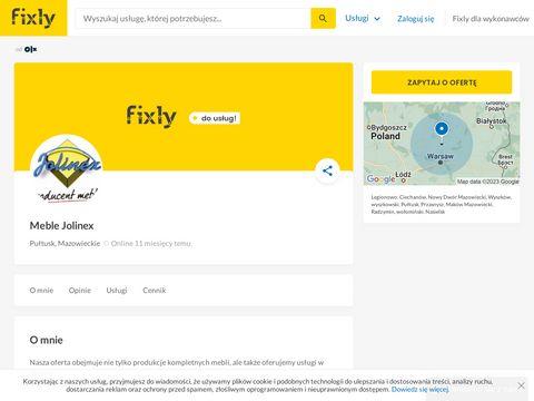 Meble-jolinex.pl na zamówienie