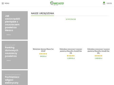 Meacopolska.pl oczyszczacze powietrza
