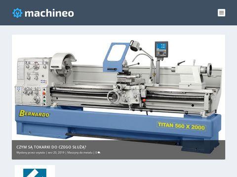Machineo.pl portal branżowy