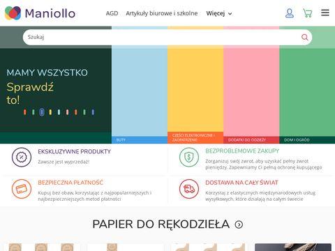 Maniolo.pl zakupy bezpośrednio z hurtowni