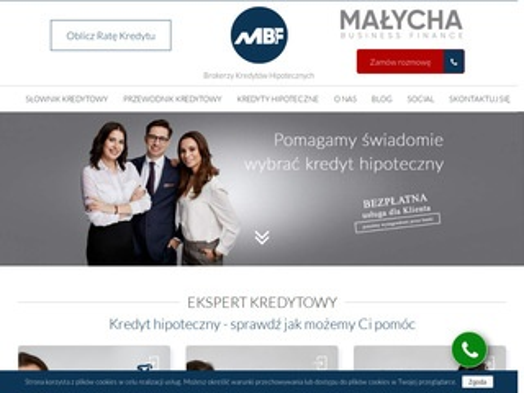 Malychabusinessfinance.com ekspert kredytowy