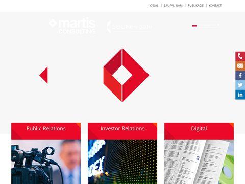 Martis Consulting Relacje inwestorskie