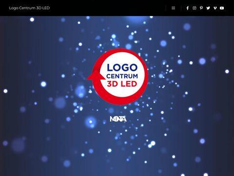 Logocentrum3dled.eu reklama świetlna
