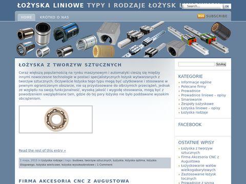 Lozyska-liniowe.com.pl - budowa