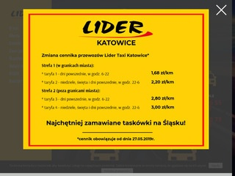Lider-taxi.pl Katowice