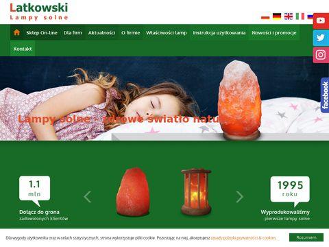 Latkowski.pl producent lamp solnych
