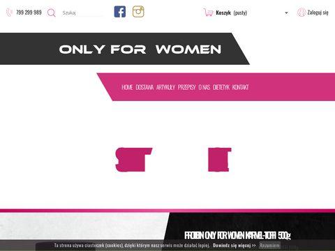 Onlyforwomen.pl odżywki białkowe dla kobiet