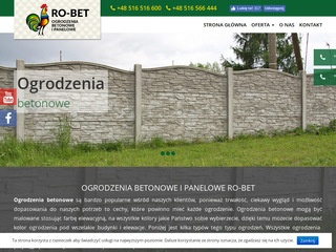 Ogrodzenia-betonowe.waw.pl w Warszawie