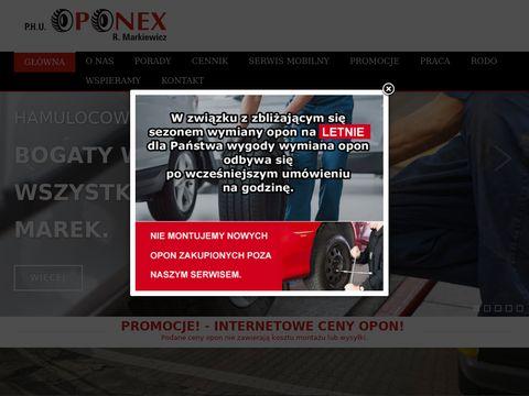 Oponex-belchatow.pl klimatyzacja
