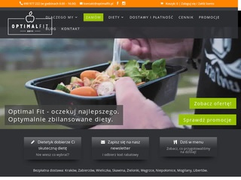 Optimal Fit - dieta Kraków