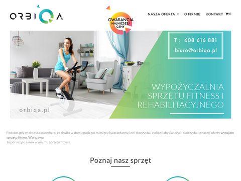 Orbiqa.pl rower stacjonarny