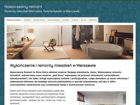 Nowoczesnyremont.pl mieszkania Warszawa