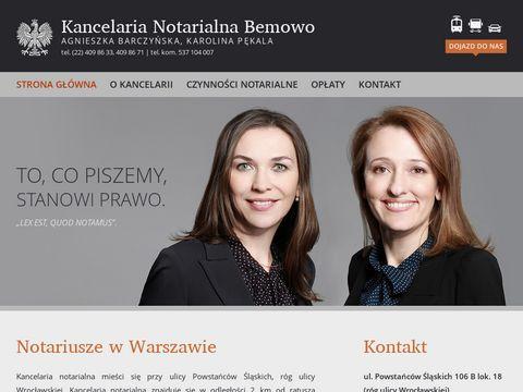 Notariuszebemowo.pl