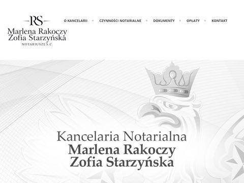 Notariusz-rakoczy.pl kancelaria