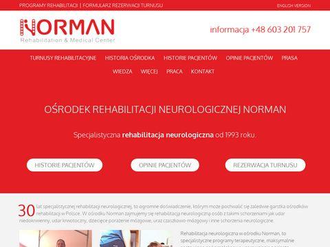 Normanrehabilitation.com specjalistyczne ośrodki