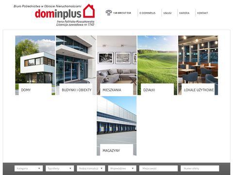 Nieruchomosci.dominplus.pl